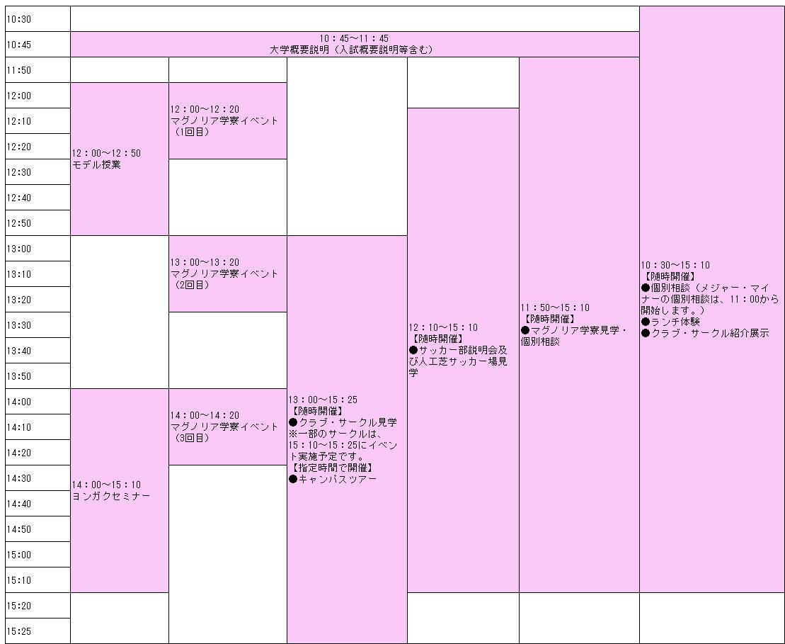 オープンキャンパス @ 四国学院大学